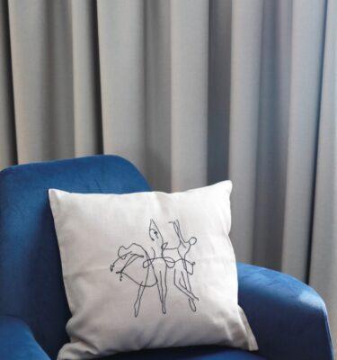 Vezena jastučnica Balerine