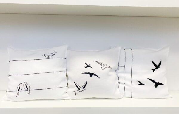 Vezena jastučnica Ptice