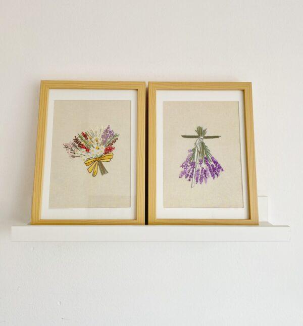 Vezena slika - Cvijeće